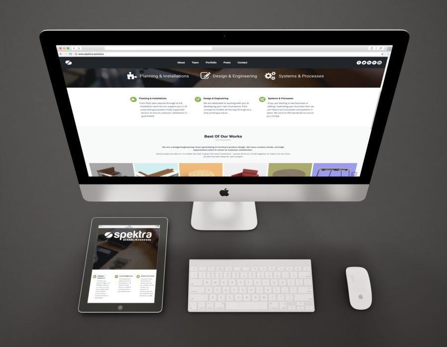Spektra Website & iPad